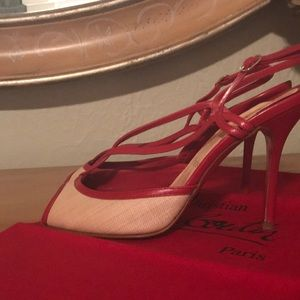 Christian Louboutin Shoes - Authentic Christian Louboutin strappy sandals